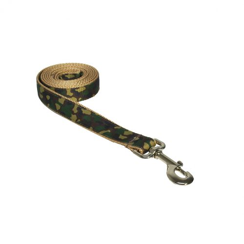 CAMO GREEN TAN S-L LEASH