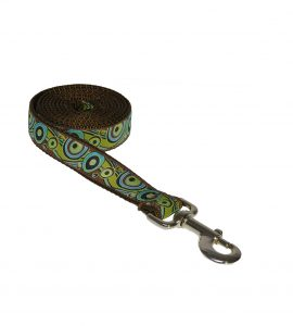 CIRCLES GREEN S-L LEASH