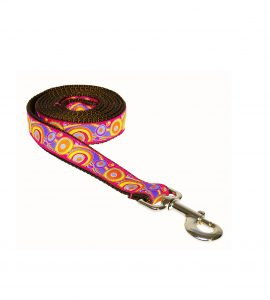 CIRCLES ORANGE S-L LEASH