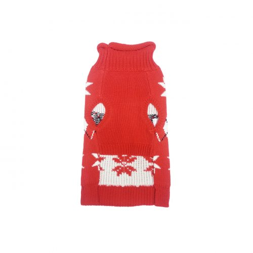 ARGYLE SNOW FLAKE SWEATER FRT