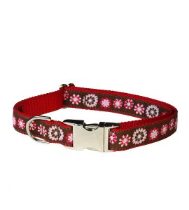 FASHION FLOWER RED LG CLR