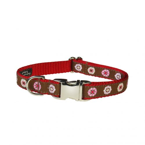 FASHION FLOWER RED S-M CLR