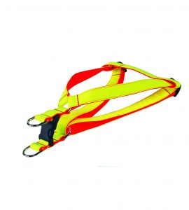NEON LIME ORANGE LG HRN