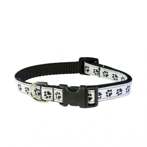 PUPPY PAW BLACK WHITE XS-M CLR