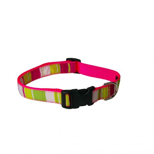 STRIPES NEON PINK MULTI S-L CLR