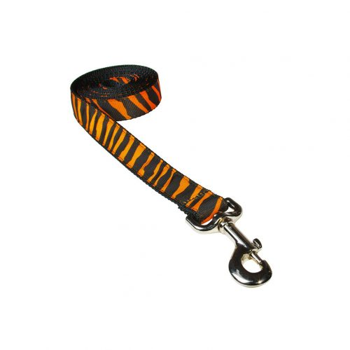 ZEBRA TANGERINE S-L LEASH
