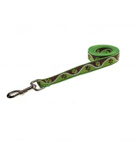 PAW WAVE GREEN XS-L LEASH