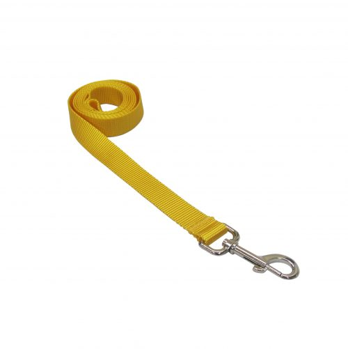 SOLID YELLOW XS-LG LEASH